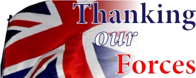 Thanking our Forces logo